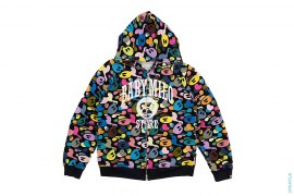 Multi Milo Camo Milo Store Full Zip Hoodie by A Bathing Ape