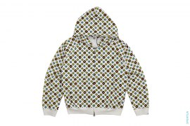 Milo Monogram Full Zip Hoodie by A Bathing Ape