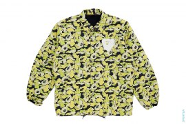 Cloud Camo Companion Apehead Coaches Jacket by A Bathing Ape x Kaws