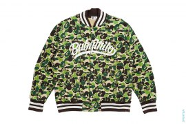 ABC Milo Camo Sweat Varsity Jacket by A Bathing Ape