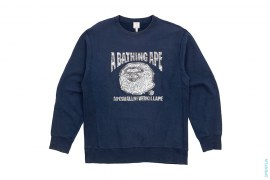 Cash Money Crewneck Sweatshirt by A Bathing Ape