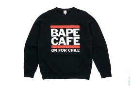 Bape Cafe Crewneck Sweatshirt by A Bathing Ape