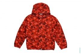 Fire Camo Full Zip Windbreaker Jacket by A Bathing Ape
