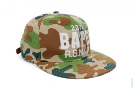 Puzzle Camo Strapback by A Bathing Ape