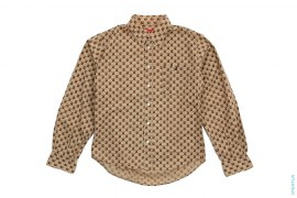 Monogram Button-Up Shirt by A Bathing Ape