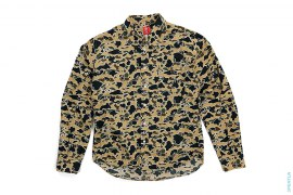 Psyche Camo Button-Up Shirt by A Bathing Ape