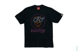 Bapexclusive Milo Double Sta Rhinestone Tee by A Bathing Ape