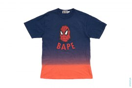 BAPE Capsule Dip-Dye Tee by A Bathing Ape x Spiderman
