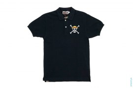 Crossbone Polo by A Bathing Ape x One Piece