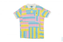 Cotton Candy Patchwork Polo by A Bathing Ape