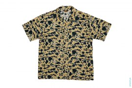 Psyche Camo Short Sleeve Button-Up Shirt by A Bathing Ape