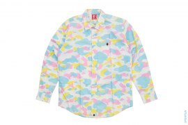 Cotton Candy Multi Camo Button-Up Shirt by A Bathing Ape