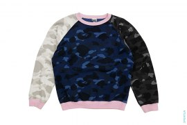 Crazy Color Camo Crewneck by A Bathing Ape