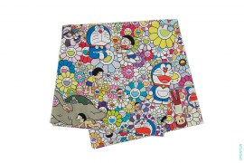 Flower Cloth by Takashi Murakami x Uniqlo