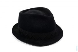 X-Eyes Wool Fedora Hat by OriginalFake