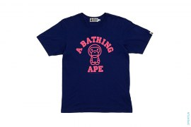 College Logo Milo Tee by A Bathing Ape
