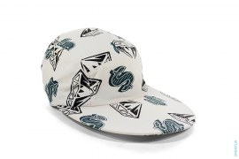 Diamond & Dollar Elastic Cap by BBC/Ice Cream