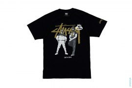 MTV Raps Eric B. And Rakim Tee by Stussy