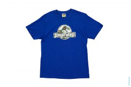 ABC Camo Dinosaur Logo Tee by A Bathing Ape x Jurassic World
