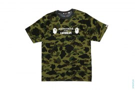 Bape Store LA Split Camo Tee by A Bathing Ape x Mastermind Japan