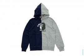 Split Logo Full Zip Hoodie by A Bathing Ape