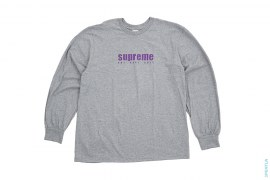 The Real Shit Long Sleeve Tee by Supreme