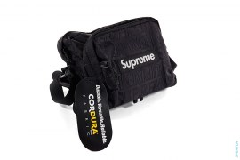 All-over Jacquard Logo Shoulder Bag by Supreme