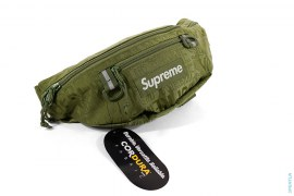 All-over Jacquard Logo Waist Bag by Supreme