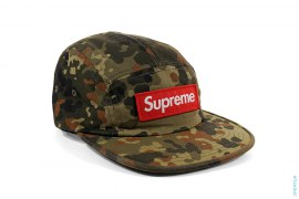 Box Logo Military Camo 5 Panel Camp Cap by Supreme
