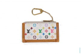 Rainbow Monogram Zip Pouch by Louis Vuitton