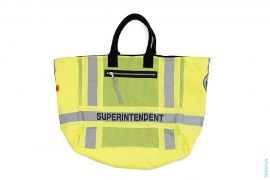 Superintendent Reconstructed Tote Bag by Heron Preston
