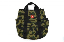 1st Camo Helmet Bag by A Bathing Ape x Samsonite