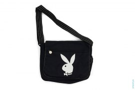 Bunny Logo Messenger Bag by Playboy