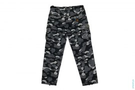 1st Camo Tiger Camo Hybrid 6-Pocket Cargo Pants by A Bathing Ape x Undefeated