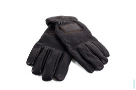 Leather Embossed Patch Premium Leather Gloves by Neighborhood