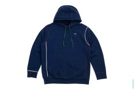Tricolor Logo Pullover Hoodie by Noah NYC