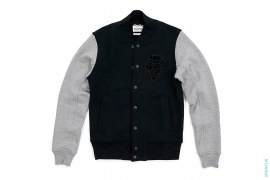 Chum Two Tone Sweat Varsity Jacket by OriginalFake x Loopwheeler