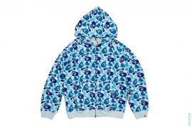 Ultimate Milo Camo Full Zip-Up Hoodie by A Bathing Ape