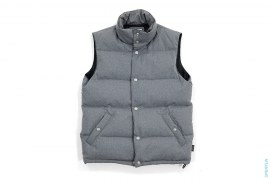 Gore Windstopper Jacquard X Lined Down Vest by OriginalFake