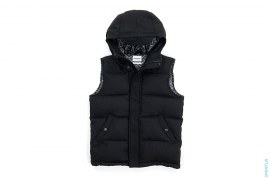 Wool XX Lined Hooded Vest by OriginalFake