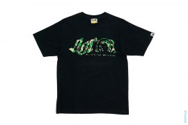ABC Camo Moonman Logo Tee by A Bathing Ape x BBC/Ice Cream