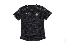 ABC Camo FC Replica Jersey by A Bathing Ape x Puma