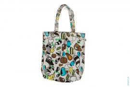 Baby Milo Animal Kingdom Tote by A Bathing Ape x Kaws