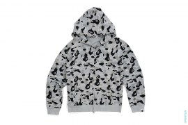 Sta Embroidered ABC Camo Full Zip Hoodie by A Bathing Ape