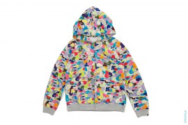 NFS Grey Multi-Camo Full Zip Hoodie by A Bathing Ape