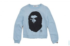 Mad Apeface Crewneck Sweatshirt by A Bathing Ape