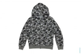Army ABC Camo Full Zip Hoodie by A Bathing Ape