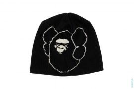 Companion Apehead Beanie by A Bathing Ape x Kaws