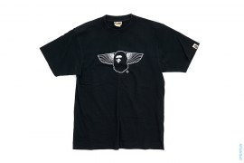 Bentley Apehead Wing Logo Tee by A Bathing Ape