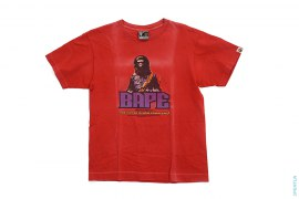 Garment Dye Graphic Tee by A Bathing Ape